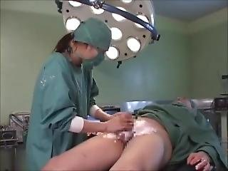 Shaving And Fucking With Surgical Gown