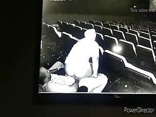 Movie Theatre Sex Caught On Hidden Camera, Public Sex