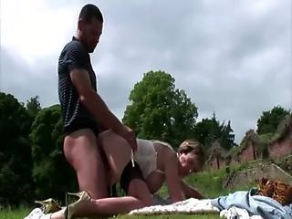 British Femdom Slut Ravaged