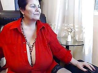 Bbw, érett, Webcam