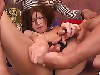 Action, Blowjob, Cock Suck, Cum, Cum In Mouth, Doggystyle, Double Blowjob, Dress, Hardcore, Mmf, Pink, Pussy, Sexy, Sucking