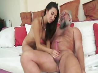 Naughty Hotties Net Old Man Gets To Sample A Young Cutie Flv