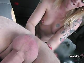 Milf Taking It Ass To Mouth In Taxi