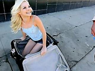 Elsa Jean Takes It All It Up Her Pussy