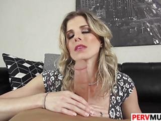 Stepson Fucks His Sultry Stepmother Cory Chase