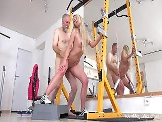 Old N Young.com   Martina D   Gym Brings Sex Addicts Together