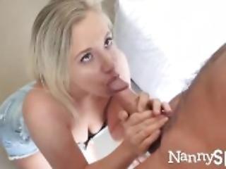 NANNYSPY Desperate Nanny Fucks Dad