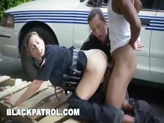 Black Patrol I Will Catch These Thugs And Suck Their Big Black Cocks