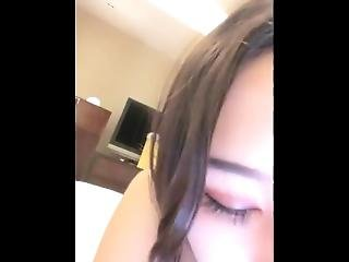Asian Gymnast Splits On Bed Super Hot Ass And Flexible