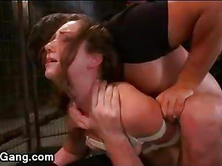 lezbijski gang seks