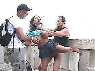Jasmine Darksome Abused In Public