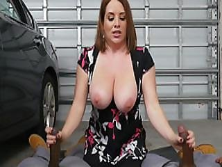 Big Tits Milf Maggie Fucked Hard In The Garage