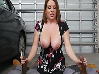 Big Tits Milf Maggie Fucked Hard In The Garage