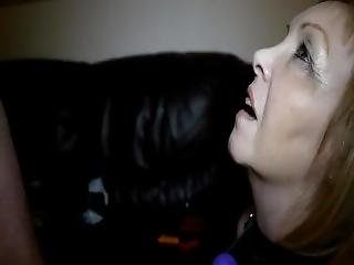Mature Wife Gets Messy Facial