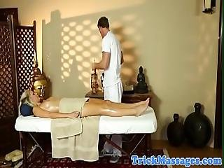 Cocksucking Milf Deepthroats After A Massage