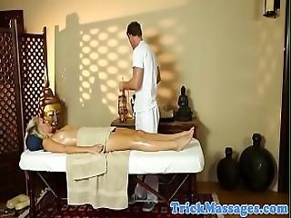 Cocksucking Milf Deepthroats After A Massage