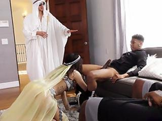 Audrey Royal Gets Her Arab Pussy Fucked By Bbc - Cuckold Sessions
