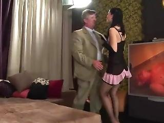 Three Dirty Old Men Take On A Hot Young Babe_ Free