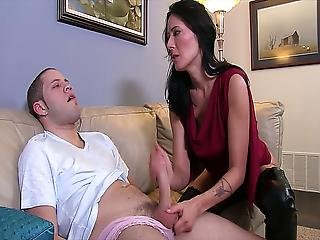 Zoey Holloway Catches Her Stepson
