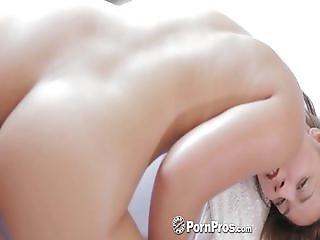 HD PornPros - Euro girl Lana gets oiled up