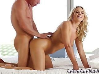 Pounded Babe Ass Jizzed