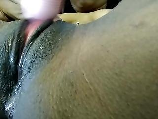After Shower Pussy Play