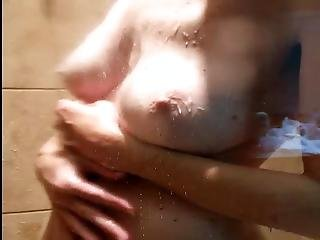 Milfmom Butt Naked In Shower Big Boobs Tits