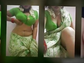 Sexy Jasmine Indian Bhabhi Aunty Masturbate Big Nipple Ass Wet Pussy Mast Mal