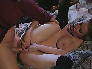 Seductive Lady With Round Boobs Gets Smashed Hard