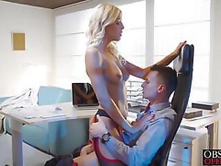 Hot Blonde Babe Karol Lilien Steps Up Her Seduction Game