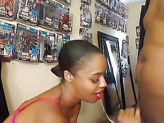 Ebony Gf Has Nerd Bf Going Crazy