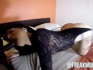 Freakmob Media- Sexy Latina Yazmin Creams All Over Bbc