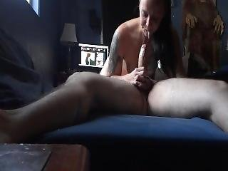 Blowjob On Christmas She Spits It Out On My Dick Then Swallows 69
