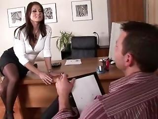 anal, gros téton, boss, double pénétration, pénetration, réalité, au travail