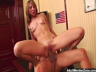 Adultmemberzone   Huge Dick Makes Her Scream With Pleasure And Pain