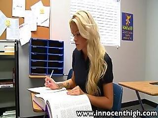 Innocenthigh Halloween Special Sexy Blonde Jess Rhodes Fucked In The Dark