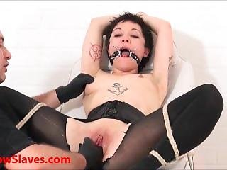 Asian Slave Mei Maras Medical Fetish And Play Piercing Bdsm Of Polynese Mas