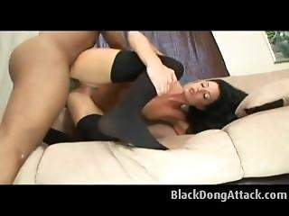 White Milf Gets Destroyed By Black Cock