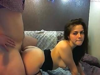amateur, nique, Ados, webcam