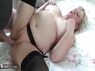 starzy, bbw, blondynka, hardcore, dojrzała, seks, pończocha
