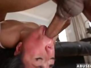 Girl whipped hard Rough ass-fuck hook-up