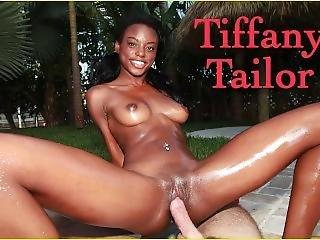 Bangbros - Skinny Black Model Tiffany Tailor Gets Fucked On Brown Bunnies