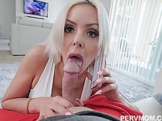 Blonde Milf Nina Elle Swallow That Giant Dick