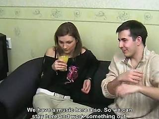Two Lithuanian Girls In The Vip Room