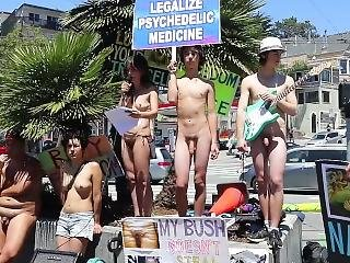 Psychedelic Medicine Rally #3 And Birthday Suit Parade