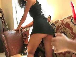 Virgin Girl Double Toying Ass And Pussy