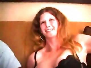Blond Wife Taking A Big Black Dick
