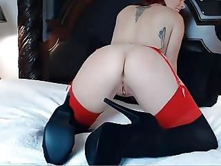 Amateur, Doigtage, Orgasme, Belle, Jet De Mouille, Webcam