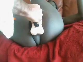 Omegle Teen Black Girl Playing With Her Clit