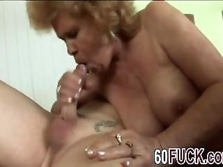 Big Boobed Granny Rides Big Cock Like A Pro